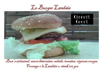Burger landais