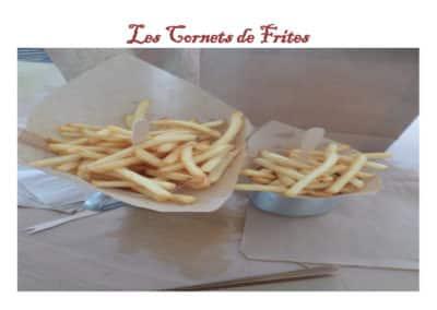 Cornets de frites