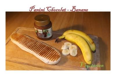 Panini chocolat banane
